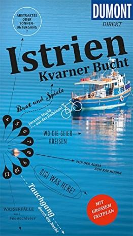 DuMont direkt Reiseführer Istrien, Kvarner Bucht: Mit großem Faltplan - 1
