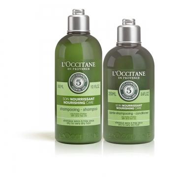 Duo Intensive Pflege Shampoo und Haarspülung - L'Occitane en Provence