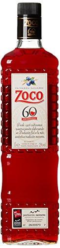 DZ Licores Pacharán Navarro Zoco, Likör aus wilden Schlehen Früchte (1 x 1 l) - 1