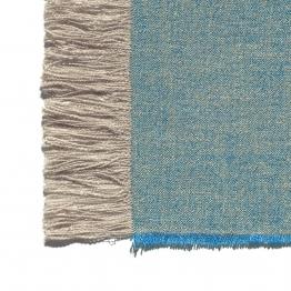 e15 Estiva Decke - Saphir/LxB 145x190cm
