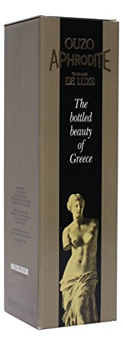 Edler Ouzo Barbagianni Aphrodite 700ml 45% Vol. aus Griechenland griechischer Destillat Likör Geschenk - 1