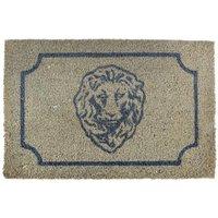 Esschert Design Fußmatte Rom, 1,6x61x40 cm, Kokosfaser, beige