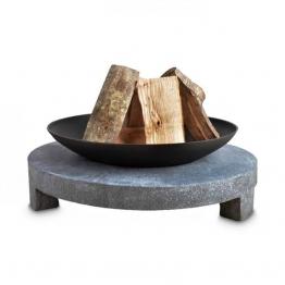 Feuerschale AA-Kaminwelt Marmo runder Sockel