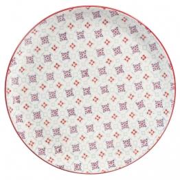 Flacher Teller aus Porzellan, COCOTTE