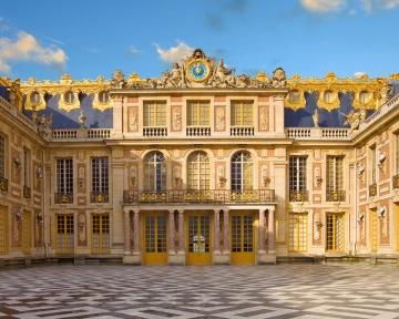 Fototapete `Versailles` 4,00x2,50 m / Glattvlies Brillant
