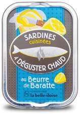 Französische Sardinen zum Braten, 5 Sorten heiße Sardinen aus der Bretagne in Schmuckdose - 2