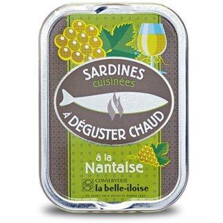 Französische Sardinen zum Braten, 5 Sorten heiße Sardinen aus der Bretagne in Schmuckdose - 3
