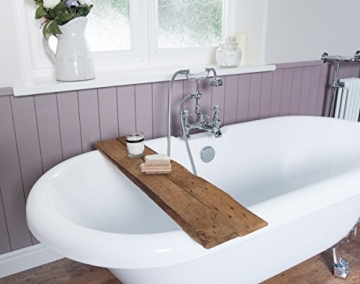 Freistehende Badewanne Wanne Standbadewanne Acryl 1695x740mm weiß - 4