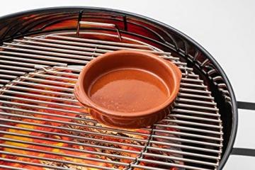 FUMOSA keramische Grillschale Piataci für Grill & Ofen - Cazuela - Tapas Keramik Schale - 2X 18 cm - 5