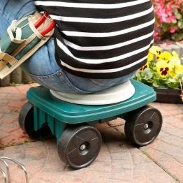 Garten-Rollsitz mit Drehfunktion