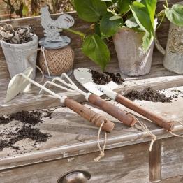 Gartengerät 3er Set Barro