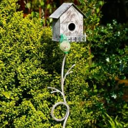 Gartenstecker Vogelvilla