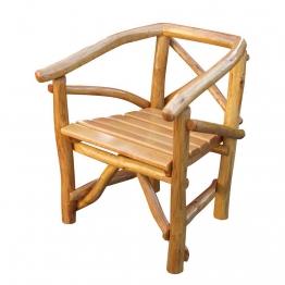 Gartenstuhl aus Holz massiv