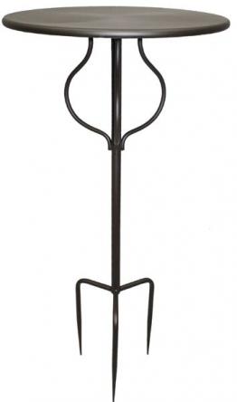 Gartentisch Stecktisch Beistelltisch PRANZO Eisen antikbraun