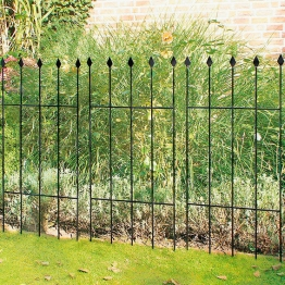 Gartenzaun Basic, 9er-Set