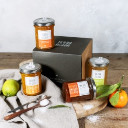 Geschenkbox: Marmeladen aus Sizilien