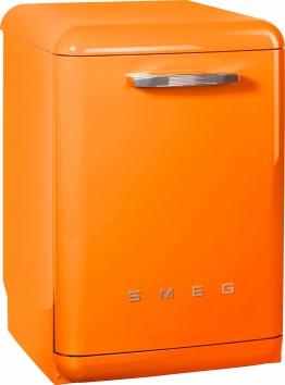 Geschirrspüler LVFABOR, A+++, 8,5 Liter, 13 Maßgedecke, Energieeffizienz: A+++ orange, Energieeffizienzklasse: A+++, Smeg