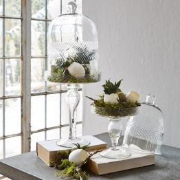 Glasglocke Margueritte