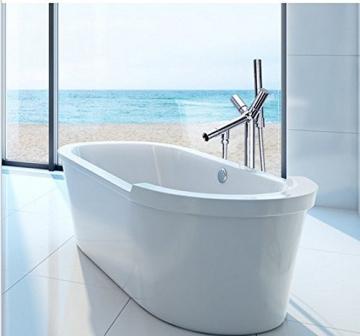 gowe moderne luxus badewanne dusche mischbatterie bodenmontage badewanne dusche wasserhahn chrom. Black Bedroom Furniture Sets. Home Design Ideas
