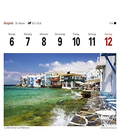 Griechische Inseln - Kalender 2018: Sehnsuchtskalender, 53 Postkarten - 11