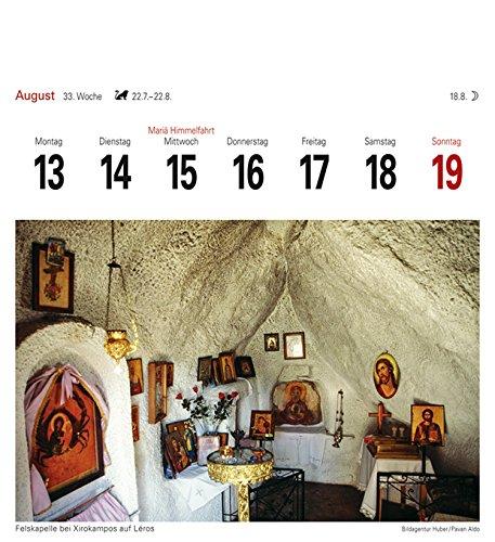 Griechische Inseln - Kalender 2018: Sehnsuchtskalender, 53 Postkarten - 12