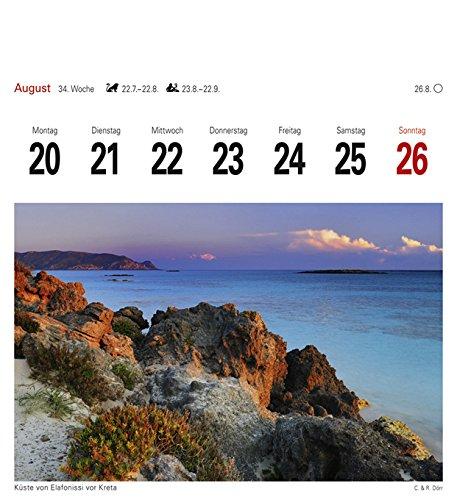 Griechische Inseln - Kalender 2018: Sehnsuchtskalender, 53 Postkarten - 13