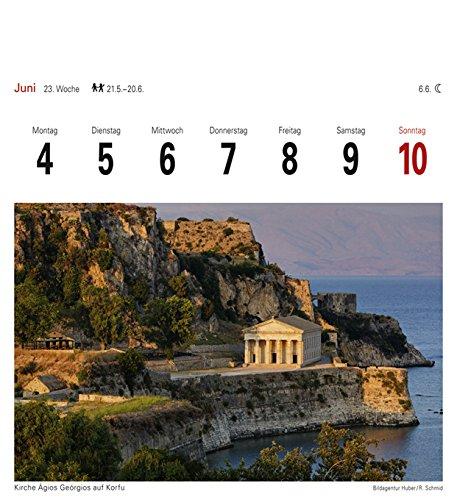 Griechische Inseln - Kalender 2018: Sehnsuchtskalender, 53 Postkarten - 2