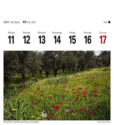 Griechische Inseln - Kalender 2018: Sehnsuchtskalender, 53 Postkarten - 3