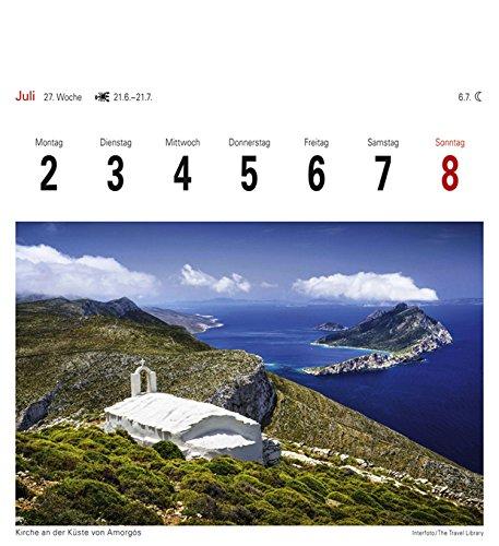 Griechische Inseln - Kalender 2018: Sehnsuchtskalender, 53 Postkarten - 6