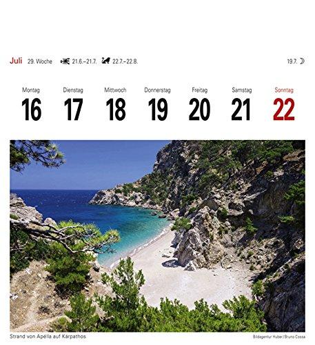 Griechische Inseln - Kalender 2018: Sehnsuchtskalender, 53 Postkarten - 8