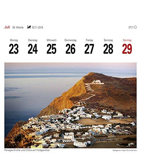 Griechische Inseln - Kalender 2018: Sehnsuchtskalender, 53 Postkarten - 9