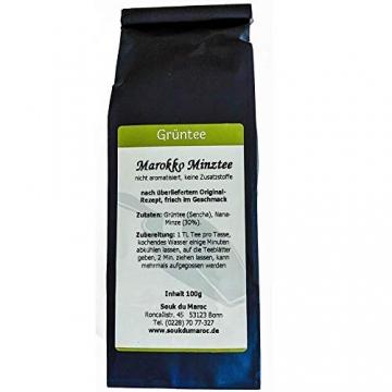 Grüner Tee Minze marokkanische Grüntee mit Nana-Minze Pfefferminze als Teemischung Cay Chai Tea aus Marokko ✔ ohne Aromastoffe ✔ ohne Zusatzstoffe ✔ ohne Konservierungsstoffe ✔ lose 1000g - 2