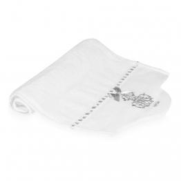 Handtuch aus Baumwolle, wei�, 30 x 50�cm, SI�CLE
