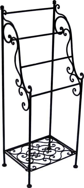 Handtuchhalter stehend BAGNO Eisen antikbraun