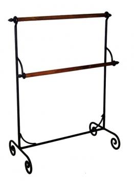 Handtuchhalter stehend FORTUNA Eisen antikbraun