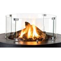 Happy Cocooning Glasschirm für Feuertisch Bowl & Cone