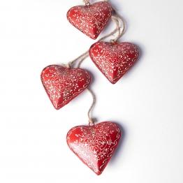 Herzen-Bundle, rot