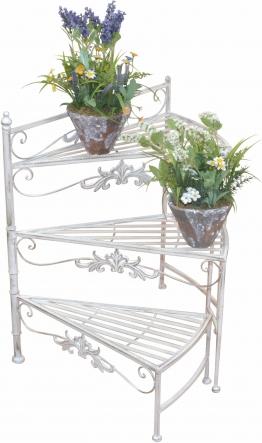 Home affaire Blumenständer, weiß »Treppe«
