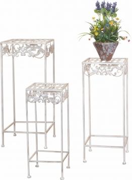 Home affaire Metall-Blumenständer, natur