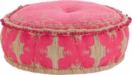 Home affaire Sitz-Pouf in runder Form bunt
