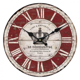 Home affaire Wanduhr »La Beaujolaise« bunt