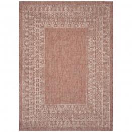 In & Outdoor Teppich Marea - Kunstfaser - Rot / Weiß - 200 x 289 cm, Safavieh