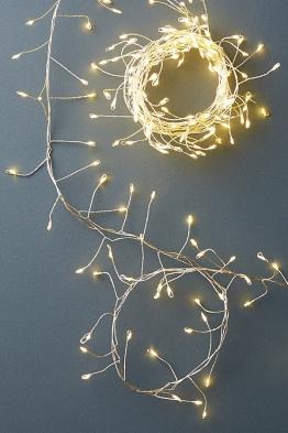Ivy Glow Lichterkette - Silver