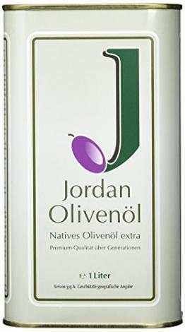 Jordan Olivenöl - Natives Olivenöl extra (1 l) - 1