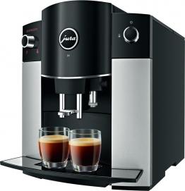 JURA D6 Kaffeevollautomat Platin (2017)