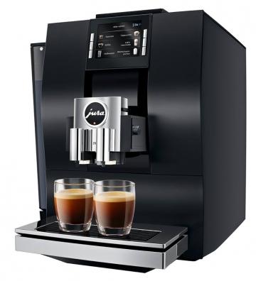 JURA Z6 Kaffevollautomat Aluminium Schwarz Modell 2017