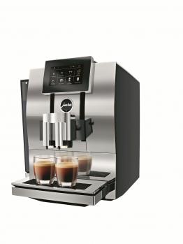 JURA Z8 Kaffeevollautomat Aluminium Chrom Modell 2017