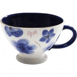 mediterrane Kaffeetasse Provence Flowers