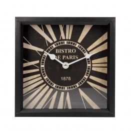 Kaminuhr Bistro De Paris 20x10x20cm, 20 × 10 × 20 cm