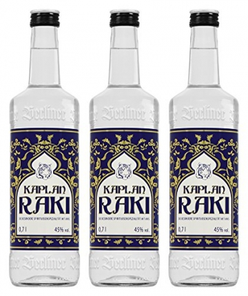 Kaplan Raki (3 x 0.7 l) - 1